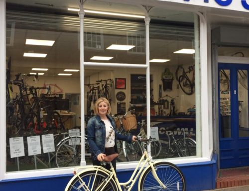 15% Discount on new bike for victim of theft Bev from Leighton Buzzard